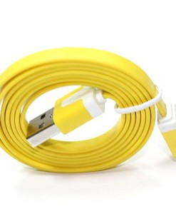 usb_cable_for iphone 5 Yellow 1