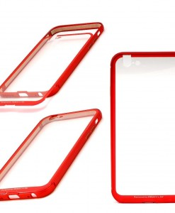 REMAX_MING-Metal_aluminium_PC_Frame_for_iPhone_6_6s_red_unboxing