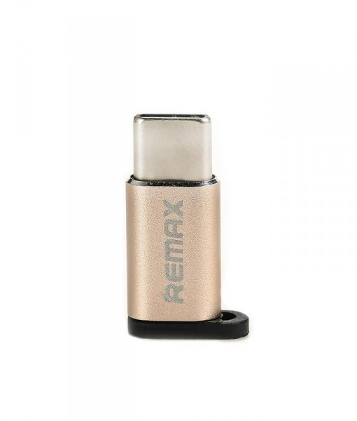 Remax_micro_to_type-c_gold