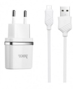 HOCO_C11_кабель_Micro_USB_white_1А_11