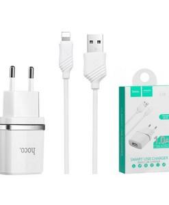СЗУ-HOCO-C11+кабель-Lightning1