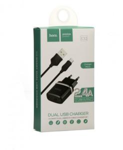 СЗУ-HOCO-C12+кабель-Micro1
