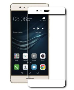 Защитное стекло Full Screen для Huawei_белое