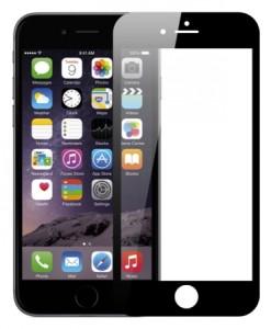 Защитное стекло Full Screen для  IPhone черное
