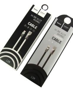 Кабель USB HOCO X4 Lightning черный_