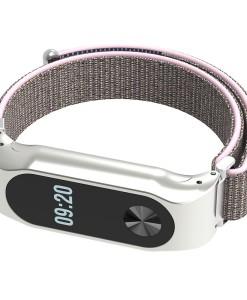 Mi Band 2 Nylon Grey Pink
